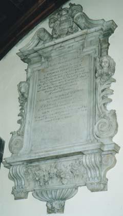 Memorial to Sir Thomas Fotherley