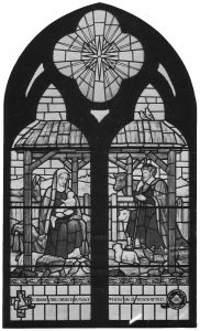 Women's Fellowship window (original)