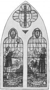 Youth Fellowship window (original)