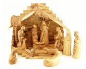 St Mary's travelling crib goes from house to house during Advent