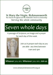 Seven Whole Days - passages from Scripture, photographs and prayers for each day of the week