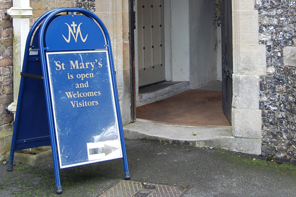 St Mary's is open once more