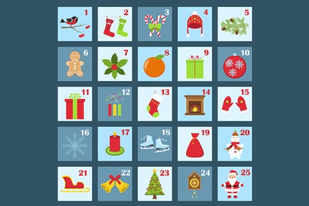 What's behind the window in our Advent calendar?