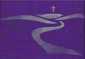Lent - the period of time leading up to Easter